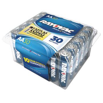 Rayovac® Alkaline Battery, AA, 30/Pack