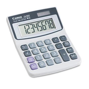 Canon® LS82Z Minidesk Calculator, 8-Digit LCD