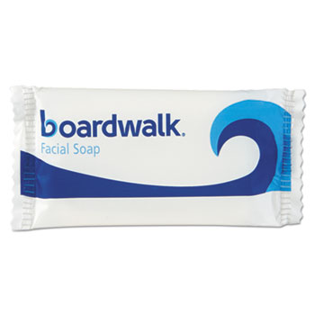 Boardwalk® Face and Body Soap, Flow Wrapped, Floral Fragrance, # 3/4 Bar, 1,000/Carton