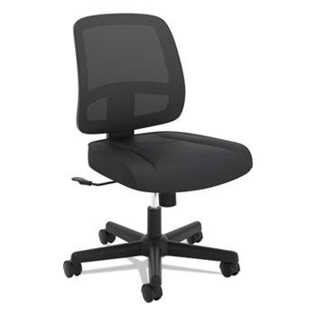 HON® VL205 Armless Mesh Back Task Chair, Black