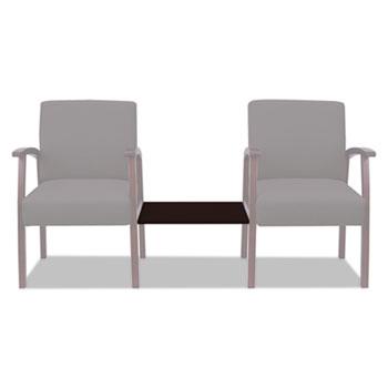 Alera® Alera Reception Lounge 700 Series Ganging Table, 18 7/8 x 21 5/8, Mahogany