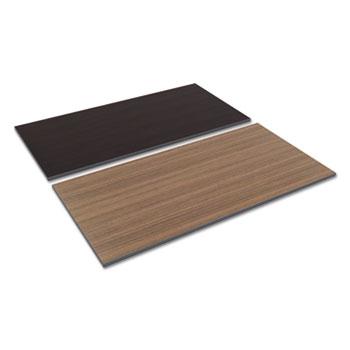 Alera® Reversible Laminate Table Top, Rectangular, 59 3/8w x 29 1/2d, Espresso/Walnut