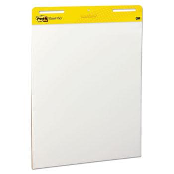 Self Stick Easel Pads, 25 x 30, White, 30-Sheet Pad, 2/CT