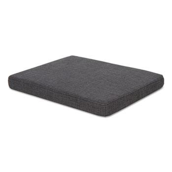 Alera® Pedestal File Seat Cushion, 14.88 x 19.13 x 2.13, Smoke