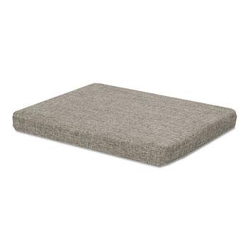 Seat Cushion for File Pedestals, 14.88w x 19.13d x 2.13h, Tan Quartz