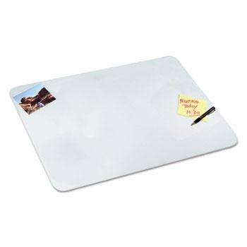 Artistic® Clear Desk Pad, 20 x 36, Clear Polyurethane