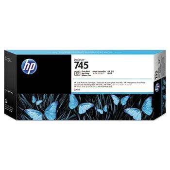 HP HP 745 (F9K04A) Photo Black Original Ink Cartridge