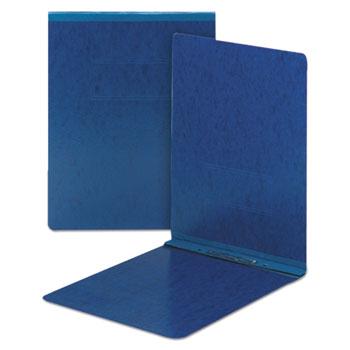 Smead® Top Opening Pressboard Report Cover, Prong Fastener, 8 1/2x11, Dark Blue