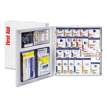 First Aid Only™ SmartCompliance First Aid Station, 50 People, No Medication, 260 Pieces