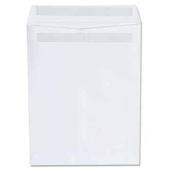 W.B. Mason Co. Self Seal Catalog Envelope, 9 x 12, White, 100/Box