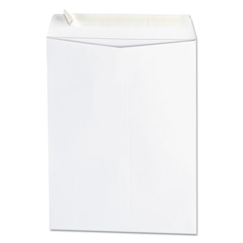 Peel Seal Strip Catalog Envelope, 9 x 12, White, 100/Box