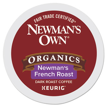 Newman's Own® Organics Organics Newman's French Roast Coffee K-Cup® Pods, 24/BX