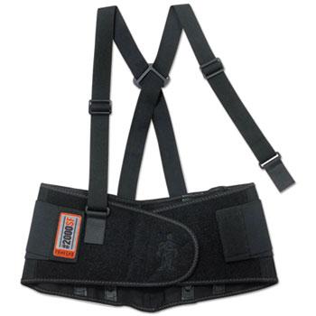 ergodyne® High-Performance Back Support, Black, L