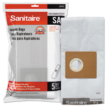 Electrolux Sanitaire® Style SA Disposable Dust Bags for SC3700A, 5/PK, 10PK/CT