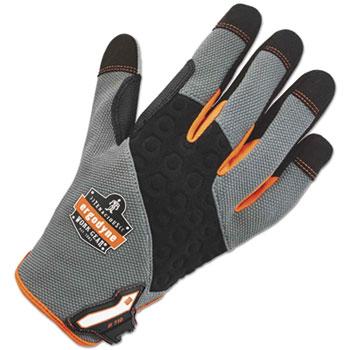 ergodyne® Heavy-Duty Utility Gloves, Gray, L
