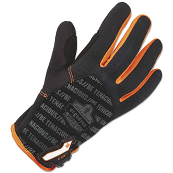 ergodyne® ProFlex 812 Standard Utility Gloves, Black, Large, 1 Pair