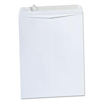 Universal Peel Seal Strip Catalog Envelope, #13 1/2, Square Flap, Self-Adhesive Closure, 10 x 13, White, 100/Box