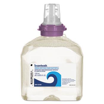 Boardwalk® Green Certified Foam Soap, Fragrance-Free, 1,200 mL Refill, 2/Carton