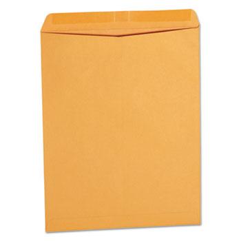 Catalog Envelope, #14 1/2, Squ Flap, Gummed Closure, 11.5 x 14.5, Brown Kraft, 250/Box