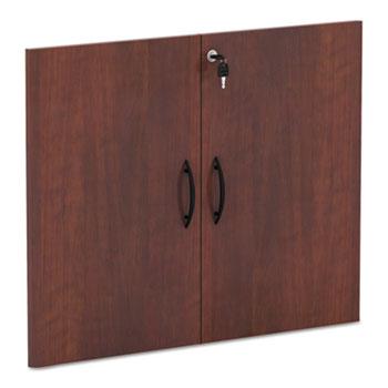 Alera® Alera Valencia Series Cabinet Door Kit For All Bookcases, 15.63w x 0.75d x 25.25h, Medium Cherry