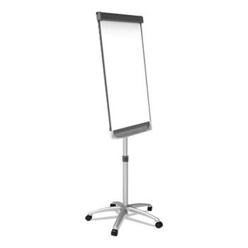 Quartet® Prestige 2 Mobile Presentation Easel,  3 ft x 2 ft, Silver/White