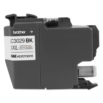 LC3029BK INKvestment Super High-Yield Ink, Black