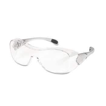 Crews® Law Over the Glasses Safety Glasses, Clear Anti-Fog Lens