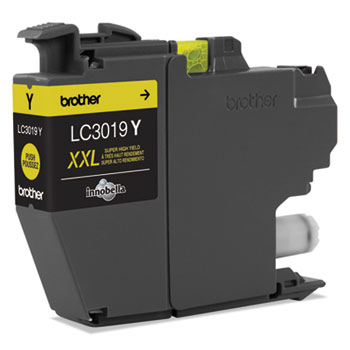 Brother LC3019Y INKvestment Super High-Yield Ink, Yellow