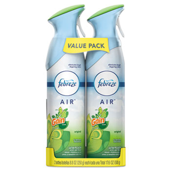 Air Effects®, Gain® Original, 8.8 oz. Aerosol, 2/Pack