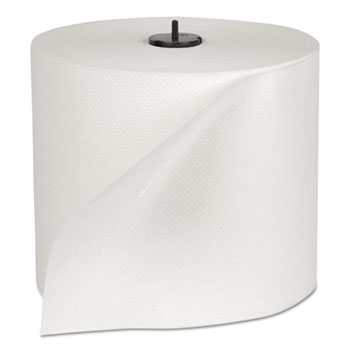 "Tork® Basic Paper Wiper Roll Towel, 7.68"" x 1150 ft, White, 4 Rolls/Carton"