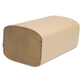 Cascades PRO Decor Folded Towel, Singlefold, Natural, 9 1/8 x 10 1/4, 250/Pack, 4000/Carton
