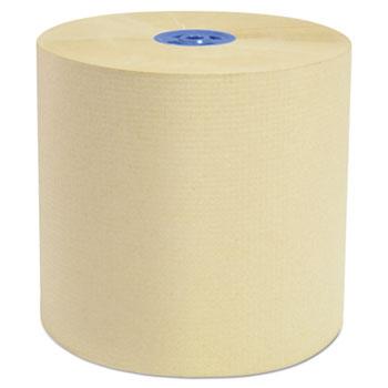 "Cascades PRO Perform Hardwound Roll Towels/Tandem Dispensers, Natural, 7.5"" x 1050 ft, 6/CT"