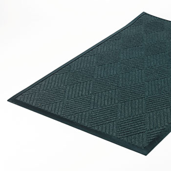 Crown Super-Soaker Diamond Mat, Polypropylene, 34 x 58, Slate