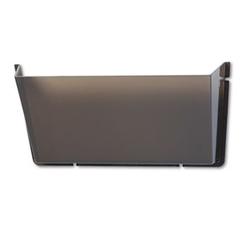Unbreakable Docupocket Single Pocket Wall File, Letter, Smoke