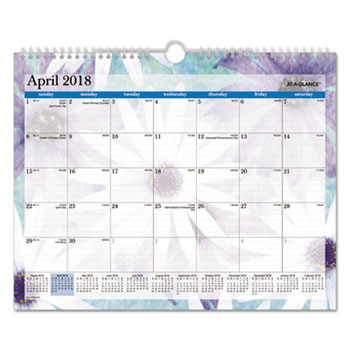 "AT-A-GLANCE® Dreams Wall Calendar, 15"" x 12"", 2021"