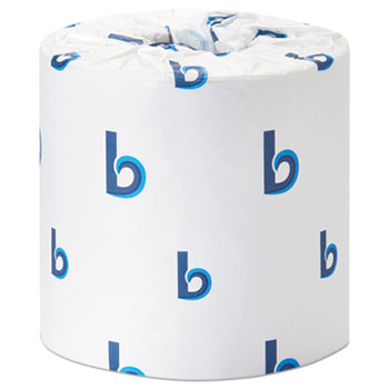 Office Packs Standard Bathroom Tissue, Septic Safe, 2-Ply, White, 350 Sheets/Roll, 48 Rolls/Carton