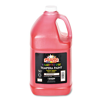 Ready-to-Use Tempera Paint, Red, 1 gal