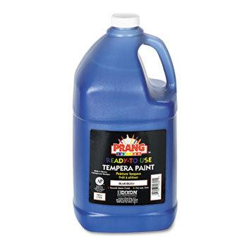 Prang® Ready-to-Use Tempera Paint, Blue, 1 gal