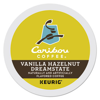 K-Cup® Pods, Vanilla Hazelnut, Mild Roast, 24/BX