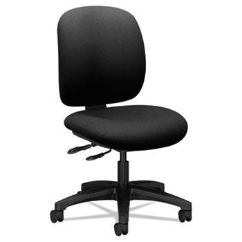 HON® ComforTask Multi-Task Chair, Black