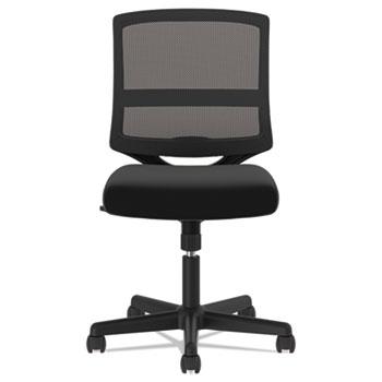 HON® VL206 Mesh Mid-Back Task Chair, Black