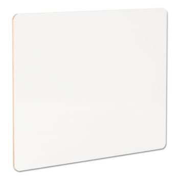 """Universal Lap/Learning Dry-Erase Board, 11 3/4"""" x 8 3/4"""", White, 6/Pack"""