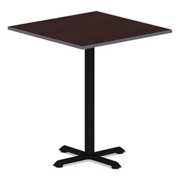 Alera® Reversible Laminate Table Top, Square, 35 3/8w x 35 3/8d, Medium Cherry/Mahogany