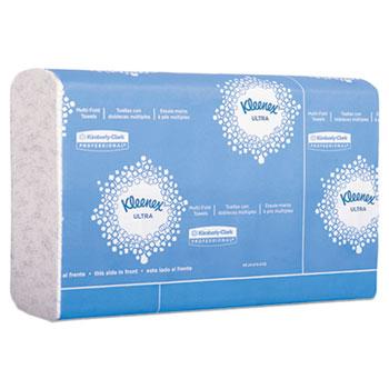 Kleenex® Reveal Multi-Fold Hand Towels, White, 150 Sheets, 16/CS
