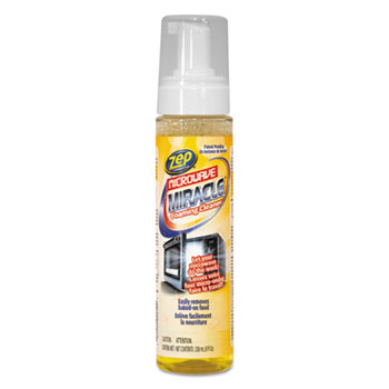 Zep Commercial® Microwave Miracle Foaming Cleaner, 8 oz Bottle, 12/Carton