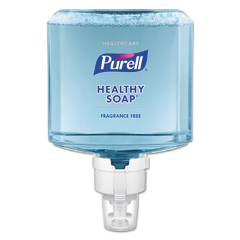 PURELL® Healthcare HEALTHY SOAP™ Gentle & Free Foam ES8 Refill, 1200 mL, 2/CT
