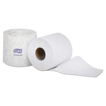 "Tork® Universal Bath Tissue, 2-Ply, White, 4.35"" Diameter, 500/Roll, 48 Roll/Carton"