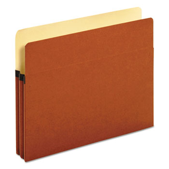"""Redrope Expanding File Pockets, 1.75"""" Expansion, Letter Size, Redrope, 25/Box"""
