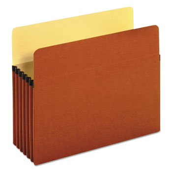 """Redrope Expanding File Pockets, 5.25"""" Expansion, Letter Size, Redrope, 10/Box"""