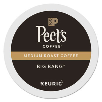 Peet's Coffee & Tea® Big Bang™ K-Cup® Pods, 22/BX